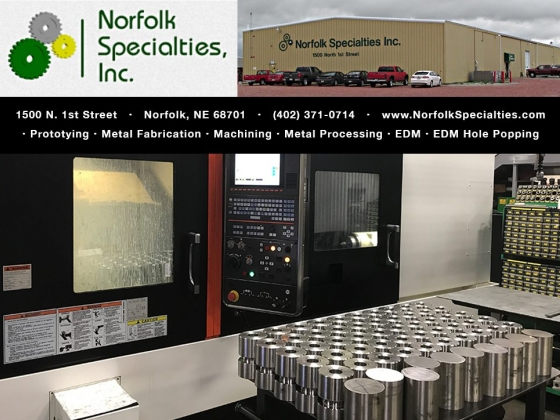 Norfolk Specialties - Industrial Metal Fabrication