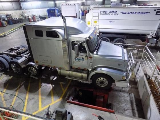 Heavy Duty Truck Mechanic Shop - Cornhusker International Trucks of Norfolk, Nebraska