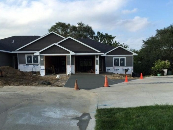 Concrete Driveways - I & P Construction - Norfolk, Nebraska
